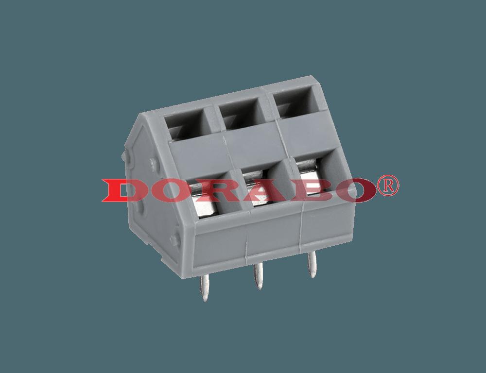 DB245-5.0 Screw-free terminal block