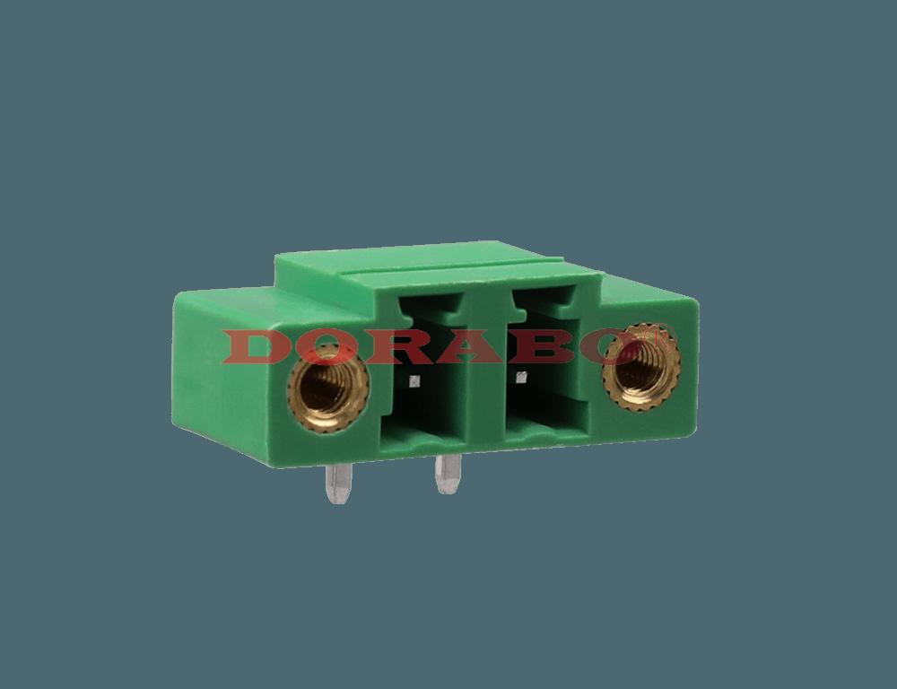 DB1ERM-5.08 Flange terminal with lock