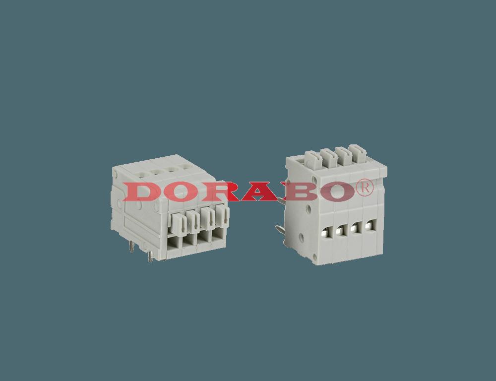 DB500R-2.54 Spring type terminal